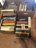 (4) Boxes of hard-back books. No Shipping!
