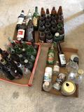 Various beer bottles and cans - No Shipping!