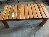 Wood coffee table (42'' W x 20'' D x 16'' H) - No Shipping!