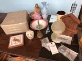3M monitor box, mirrors, vases, dishes, glass items, and more!