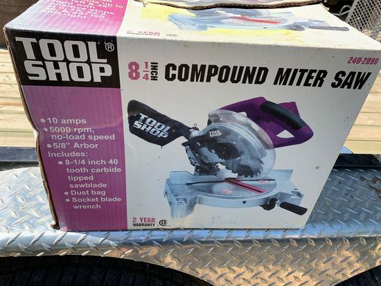 Tool Shop Compound Miter Saw [NIB]