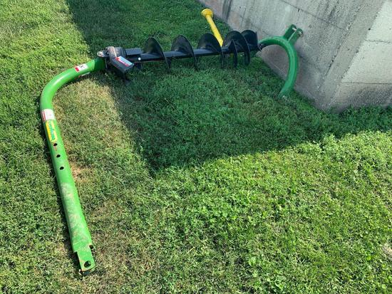 Bomgaars Post Hole Auger, 3 Point Mounted