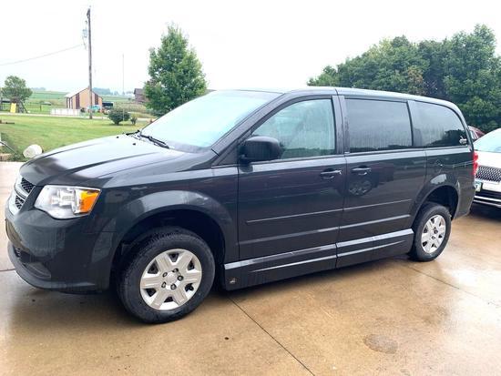 2012 Dodge Grand Caravan SE, Handicap Conversion Van, Only 59,384 Miles