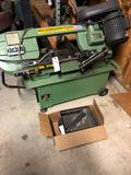 Central Machinery, metal cutting bandsaw, 7'' x 12'' w/wet-kit, 1hp, Item# 97009 - made only 1-cut.
