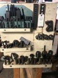 Assortment of attachments to mill/drill