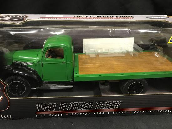 1941 Chevrolet FlatBed Truck Highway 61 Collectible