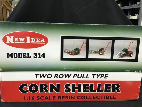 """New Idea Model """"314"""" Two Row Pull Type Corn Picker Sheller"""