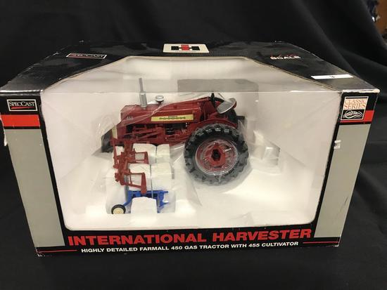 IH Farmall 450 Gas w/ 455 Cultivator Spec Cast