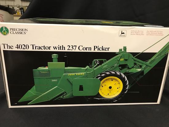 """John Deere """"4020"""" Tractor with """"237"""" Corn Picker Precision Classic"""