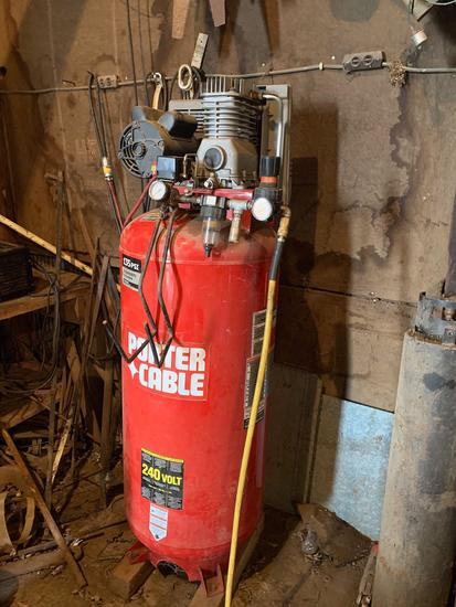 Porter Cable Vertical Air Compressor