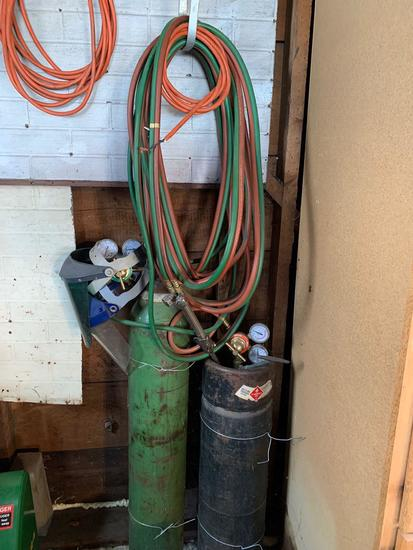 Acetylene torch set