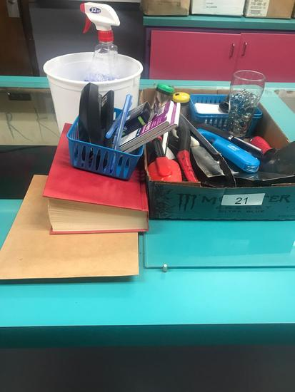 Assortment of Utensils and Supplies