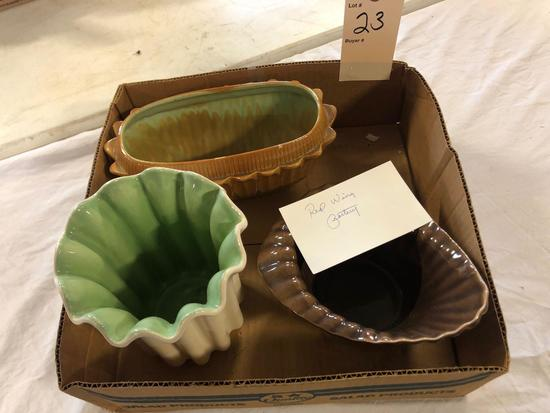 Redwing Art pottery