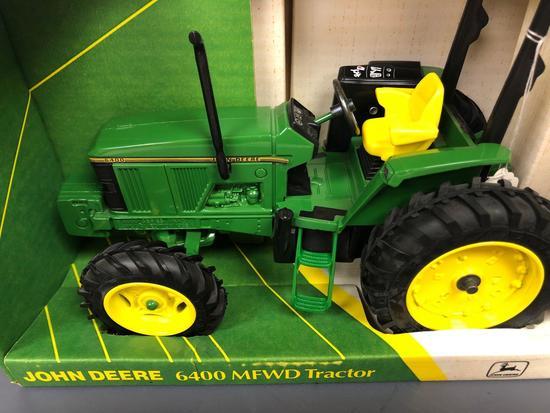 "John Deere ""6400"" MFD Open Station Tractor"