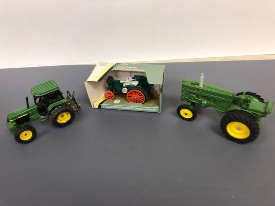 "Assortment John Deere ""M"", ""Overtime"", and ""3350' Tractors"