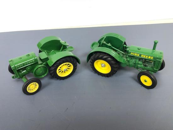 "Assortment John Deere ""AR?"" Styled and Unstyled Tractor"