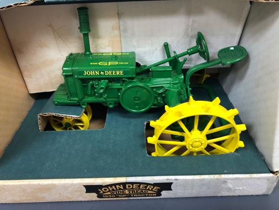 "John Deere ""GP Wide Tread"" Narrow Front Steel Spoker Tractor"