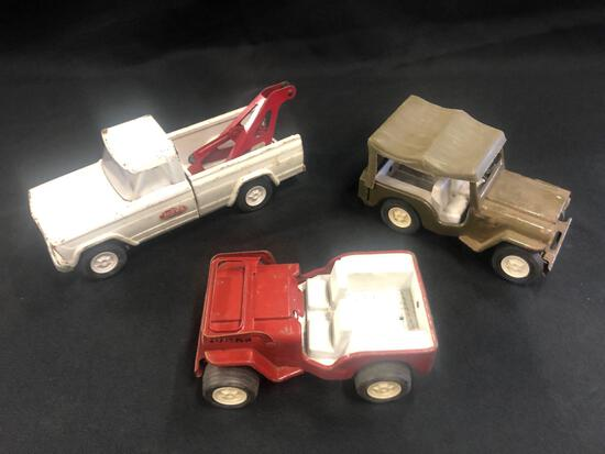 3 Tonka Trucks