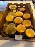 Various Hare cups and bowls.