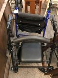 2 - 4 Wheel Walkers with Brakes - NO SHIPPING!