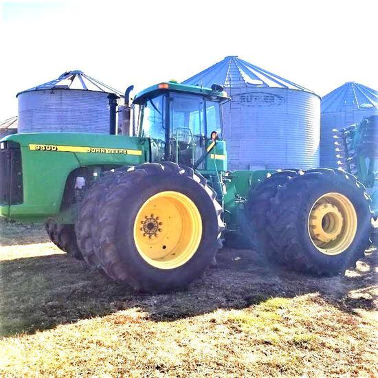 2001 John Deere 9400 Articulated 4 Wheel Drive Tractor