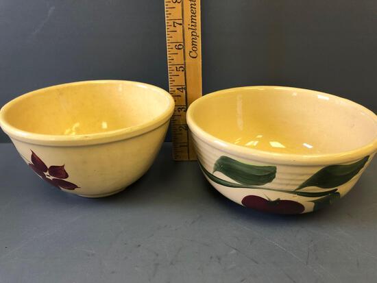 (2) #7 Watt Ware Bowls