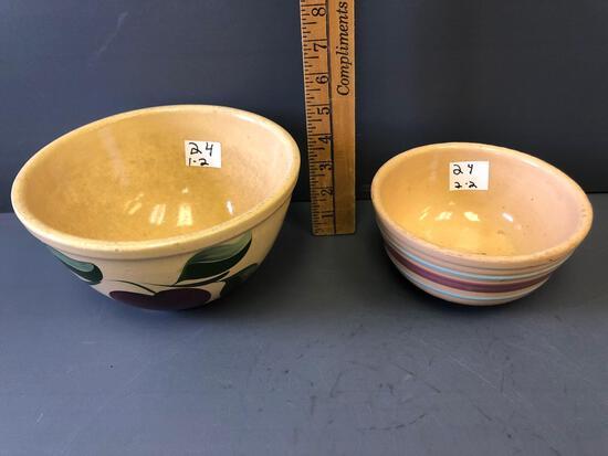 #8 & #6 Watt Ware Bowls