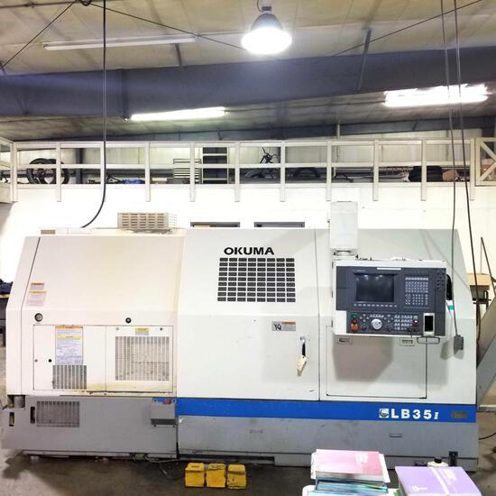 Okuma LB35 II CNC Lathe Sn 1003-0521, OSP 7000L-G Control