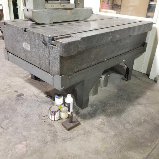 "Tru-Stone 48"" x 72?? Granite Table"