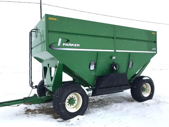 Parker 605 Gravity Wagon - Green