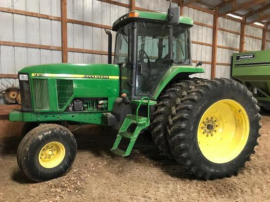 1997 John Deere 7810 Diesel 2wd Tractor