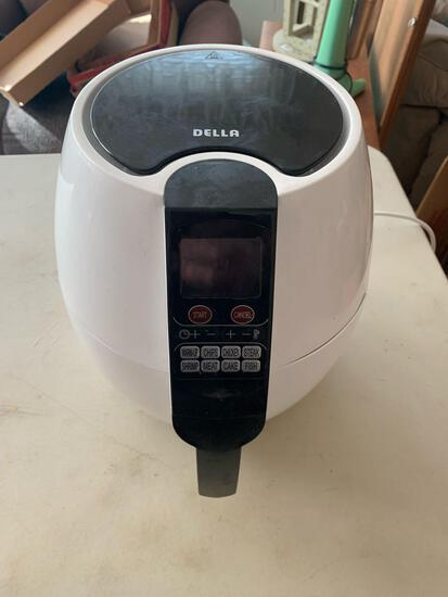 Della electric programmable air fryer