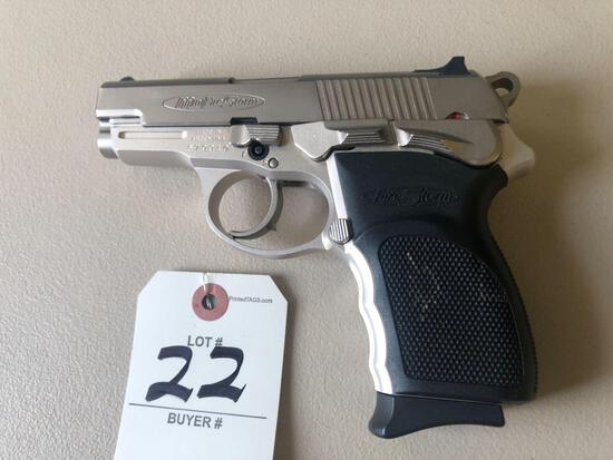 Mini Fire Storm 40 cal. pistol w/ clip.