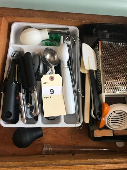 Assortment of Kitchen Utensils and Ites