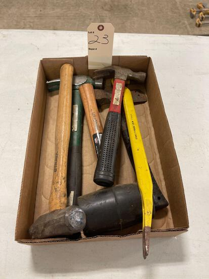 HAMMERS, MALLET, PRY BAR