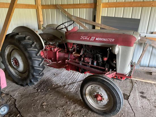 """FORD """"601 WORKMASTER"""" GAS TRACTOR"""