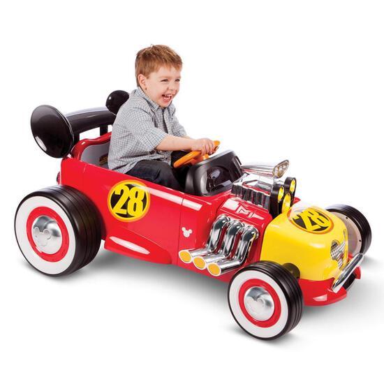 Mickey Racer Ride On Car