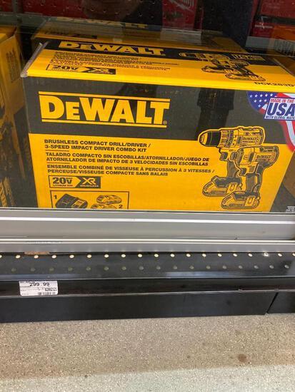 DeWalt Brushless Drill/Driver Combo Set