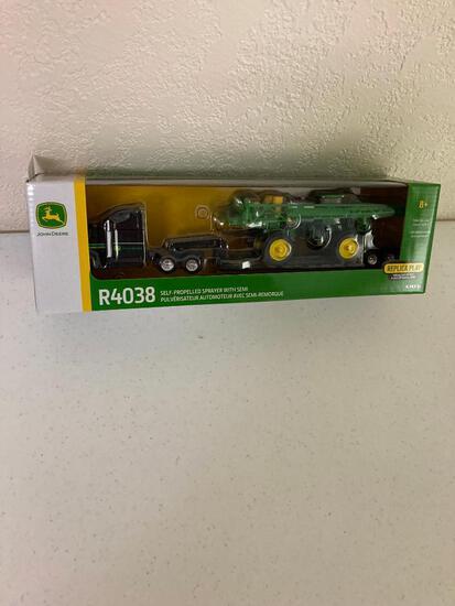 John Deere R4038 Sprayer & Truck