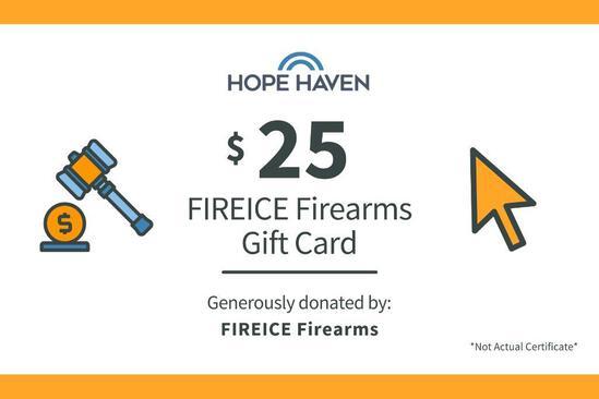 FIREICE Firearms $25 Gift Card