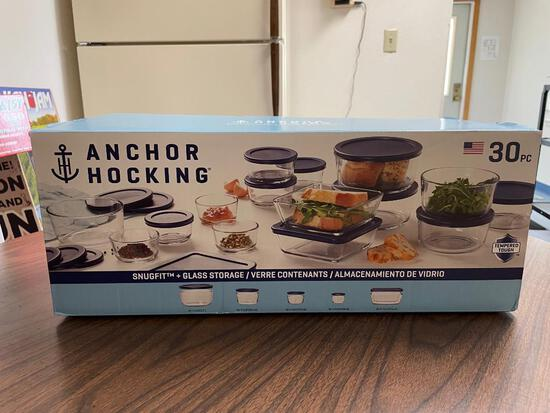 Anchor Hocking 30 Pc Storage Containers
