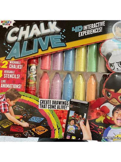 Chalk Alive Sidewalk Chalk