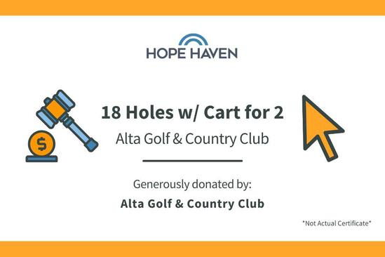 Alta Country Club Golf Package