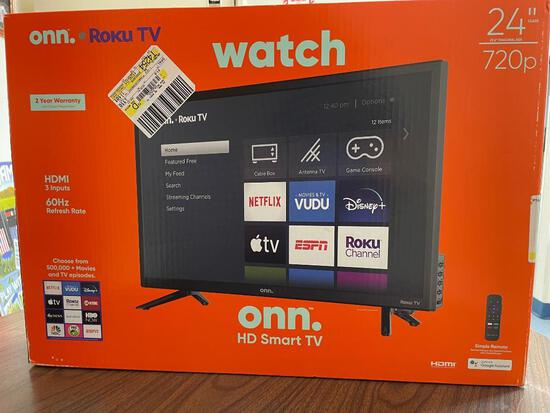 "ONN 24"" Roku TV"