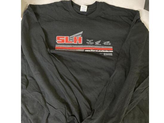 Storm Lake Honda long sleeve gray T-shirt Size 3x