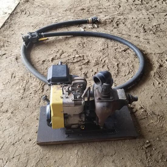 Transfer Pump and Hose