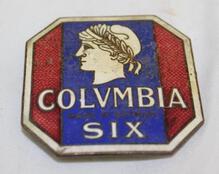 Columbia Six Radiator Emblem Badge