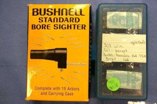 308WIN AMMUNITION / BUSHNELL STANDARD BORE SIGHTER