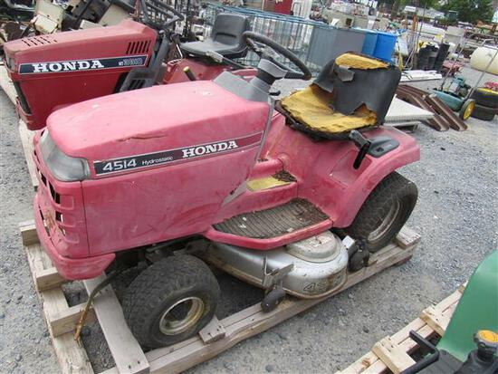 Honda 3810 Tractor with Mower