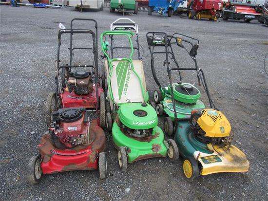 Push Mower Lot